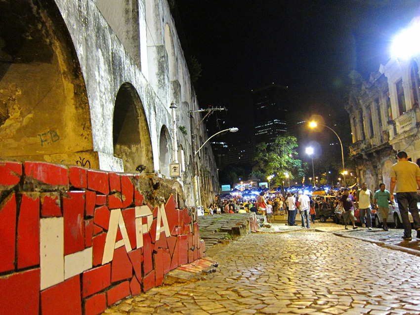 Come Lapa for the street party and you won't be disappointed. Photo courtesy Ryan B.