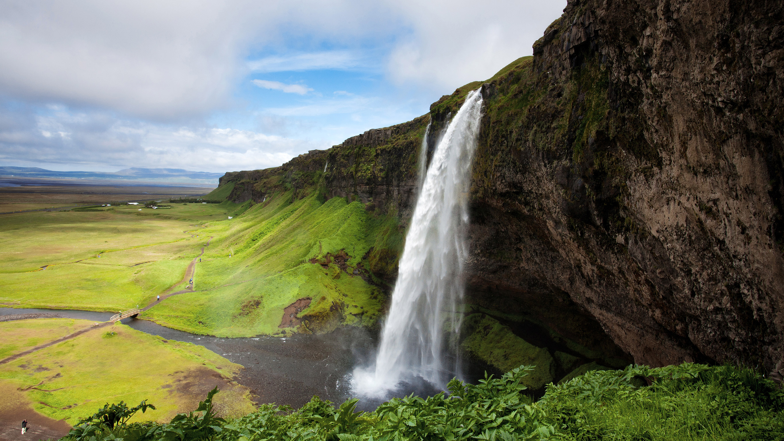 Iceland's Seljalandsfoss Falls will take your breath away.