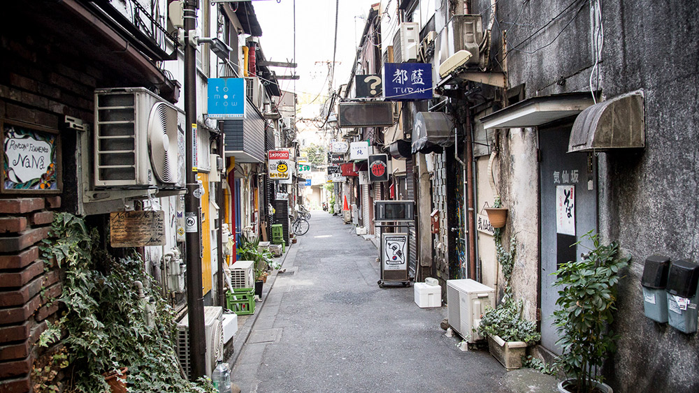 Golden Gai is made up of more than 200 tiny bars. Photo courtesy Steven T.