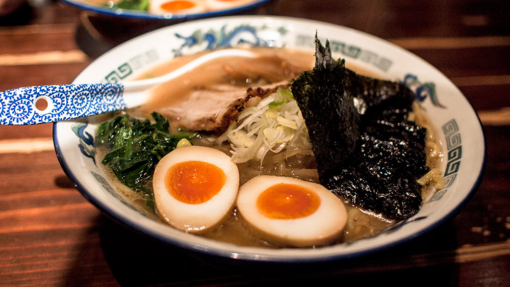 Be sure to tuck into some ramen when you're in Tokyo. Photo courtesy Jonathan L.