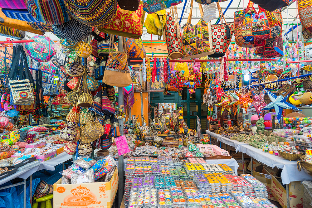 One of Singapore's many vibrant markets.
