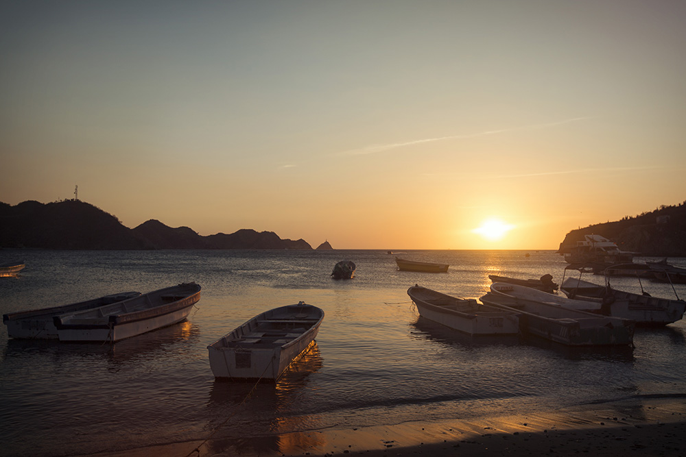 Taganga has some of the best diving in Colombia.