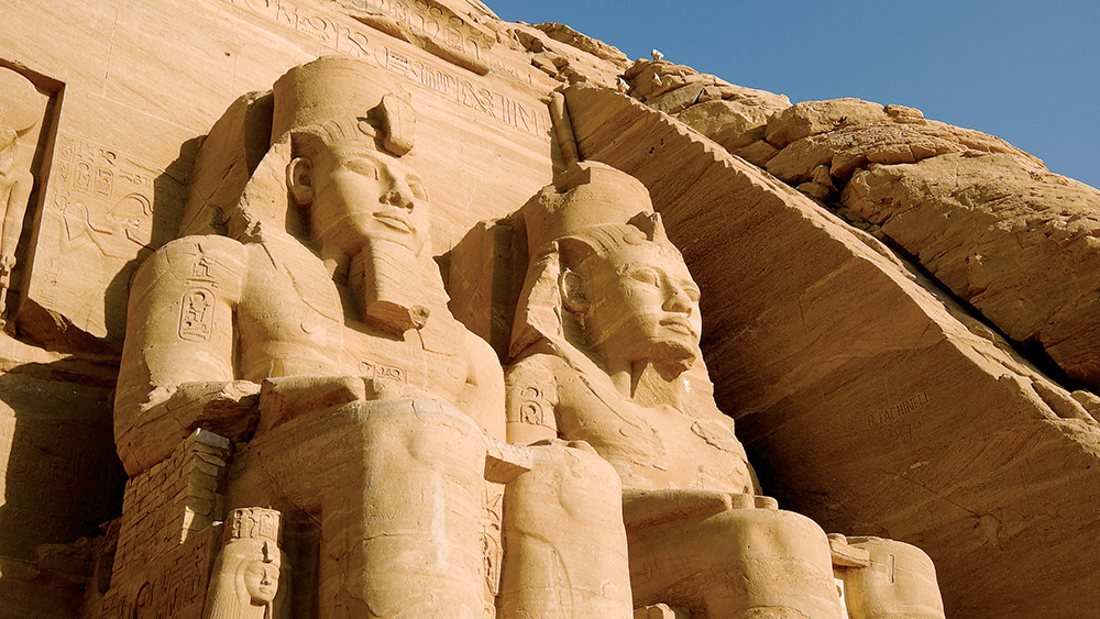 Ramses II's Temple of the Sun.