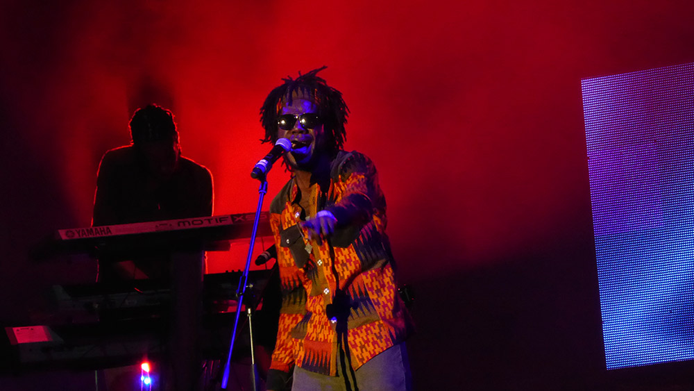 Chronixx live at Sumfest. Photo courtesy Beaver B.