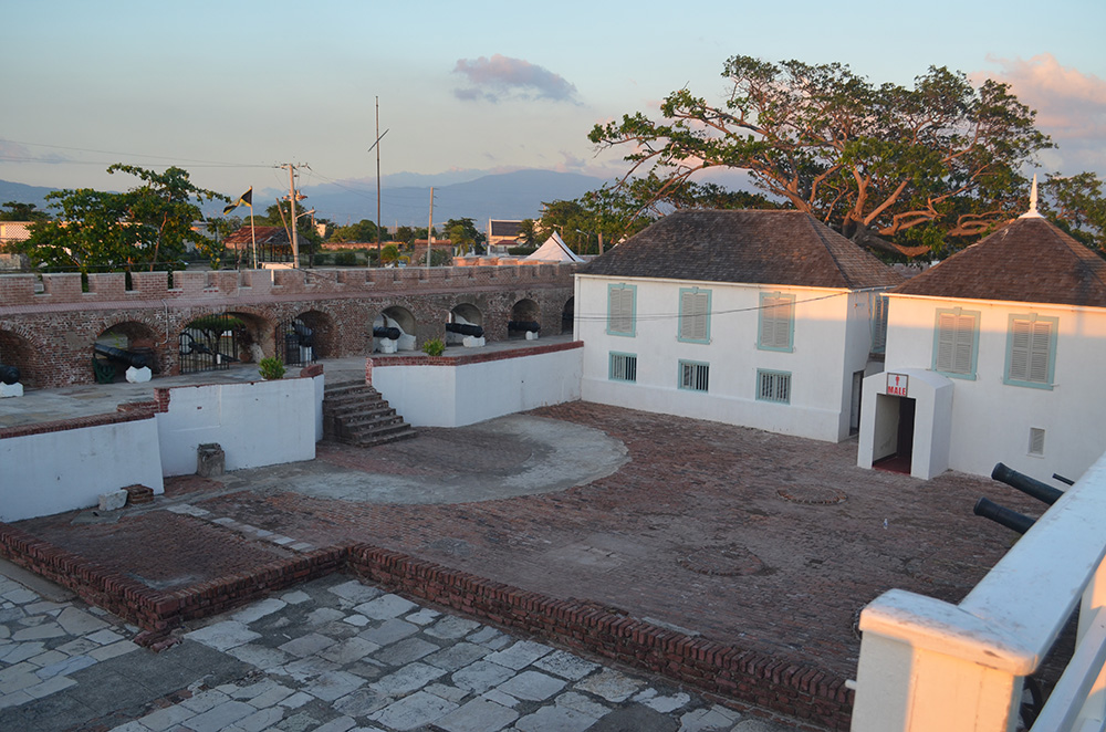Fort Charles, in Port Royal, is now a museum. Photo courtesy of Kent M.