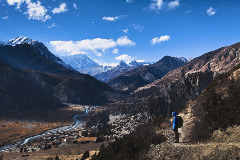 The sweeping vistas of the Annapurna Circuit in Nepal. Photo courtesy Richard Lindie, Dreamstime.