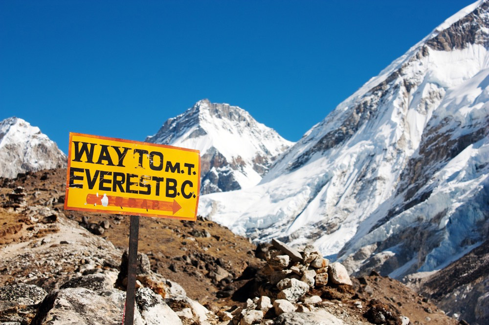 Everest Base Camp in Nepal. Photo courtesy Richard Lindie, Dreamstime.
