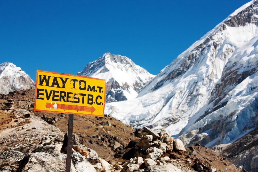 Everest Base Camp in Nepal. Photo courtesy Richard Lindie, Dreamstime.