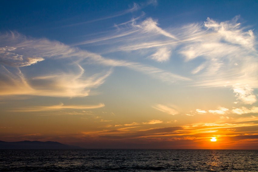 Day's end in Puerto Vallarta.