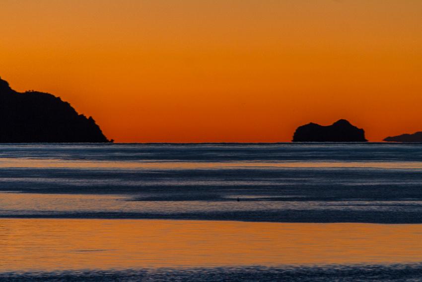 Sunrise in the Sea of Cortes.