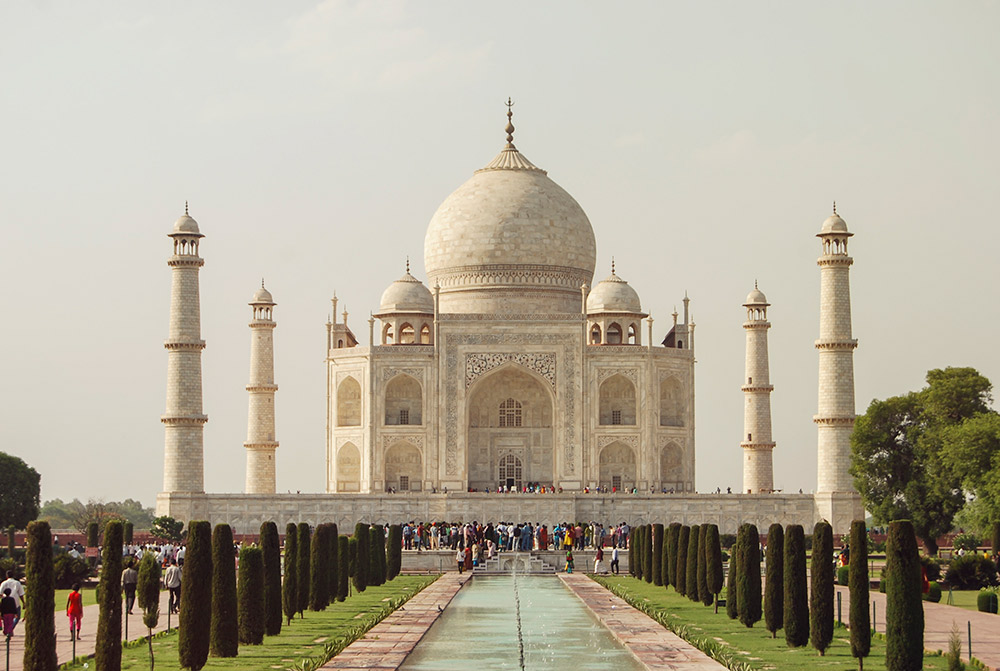 The Taj Mahal offers hundreds of persepctives for the curious photographer. Go find them!