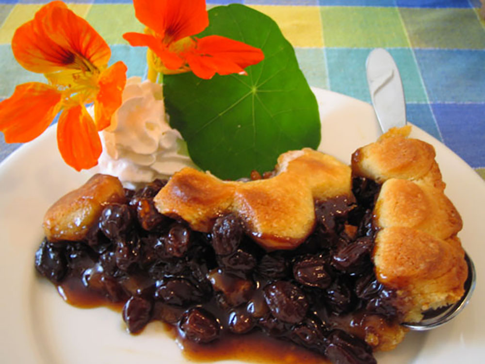 Funeral pie is often served at — you guessed it — funerals. Photo courtesy Elaine A.
