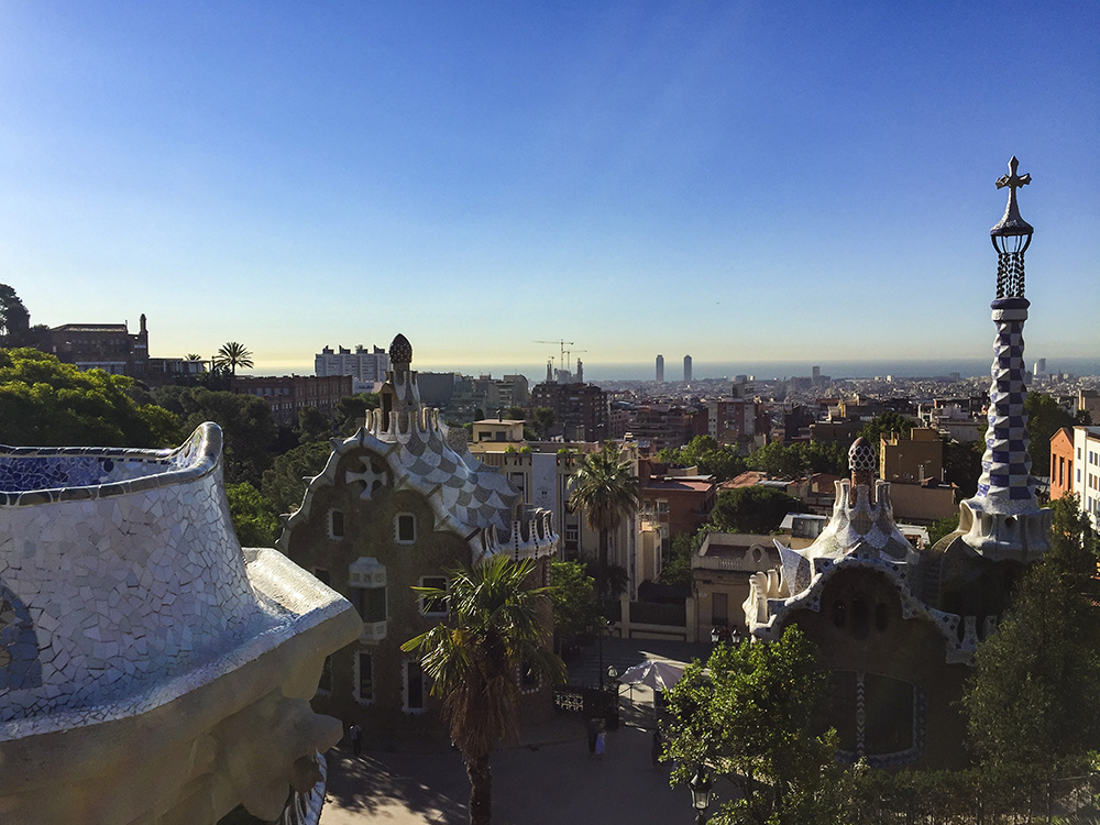 The architecture of Barcelona is best suited for a leisurely bike ride.