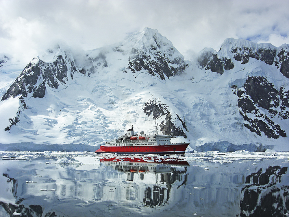 Crossing the Drake Passage can be choppy, but it's worth it.