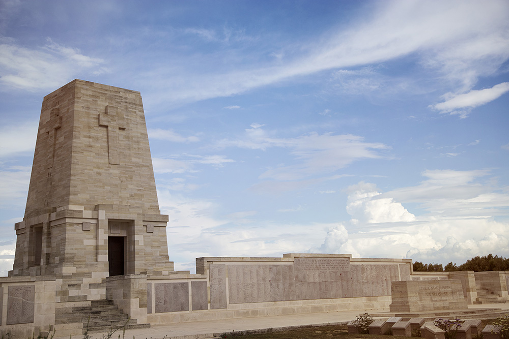 The Anzac memorial at Galipoli, in Turkey.