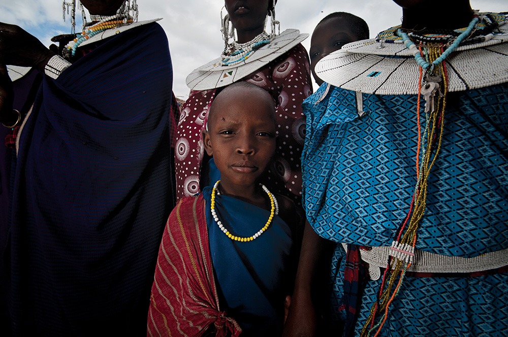 The Maasai of Kenya and Tanzania.