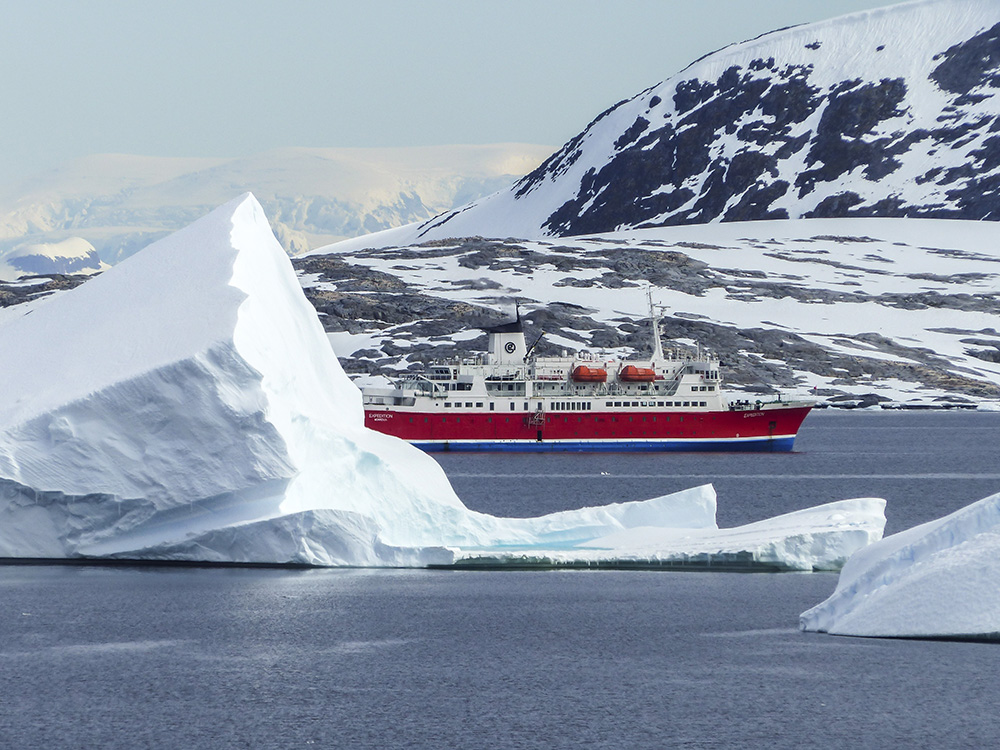 The G Expedition in Antarctica.