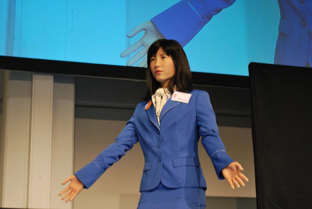 Toshiba's Chihira Kanae.