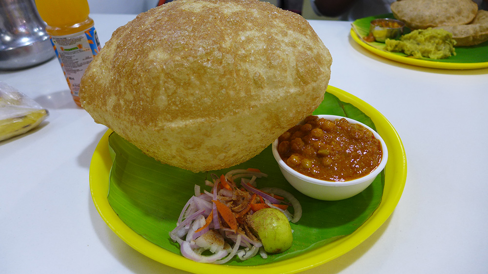 Indian Bhatoora.