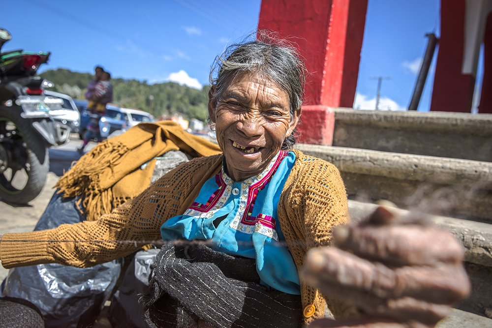"Dragan met this artisan in Mexico; she is deaf and mute, and so Dragan was unable to communicate with her. ""To me,"" Dragan wrote on Instagram alongside her post of this image, ""it is always incredible how much you can relate with someone without the use of language."""