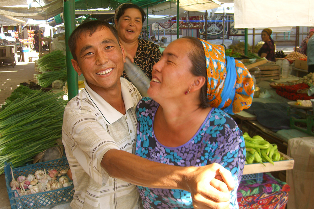 Although Turkmenistan doesn't get many visitors, local people are very friendly and have fun engaging with travellers.