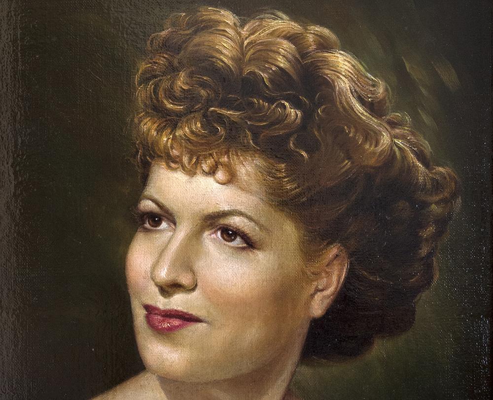 Neruda's third wife, Matilde Urrita.