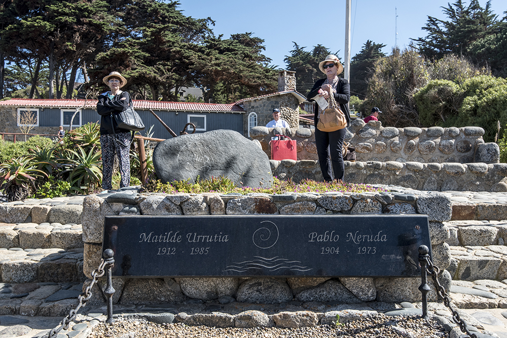 Neruda's grave — and that of his wife Matilde?— are on the grounds of Isla Negra.