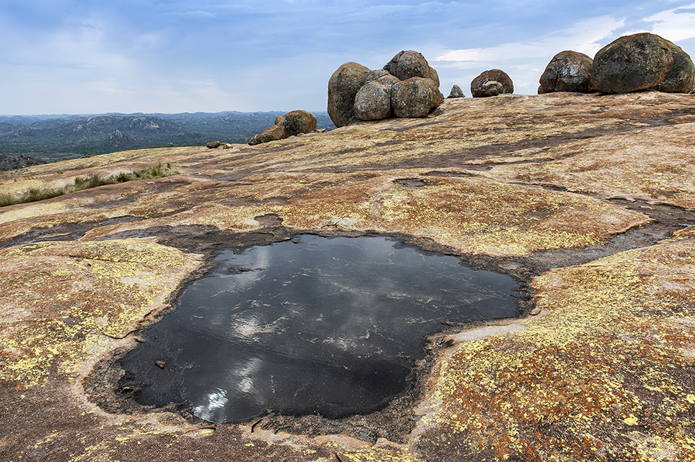 Matobo Hills, in southern Zimbabwe, are home to more than 300,000 rock paintings.