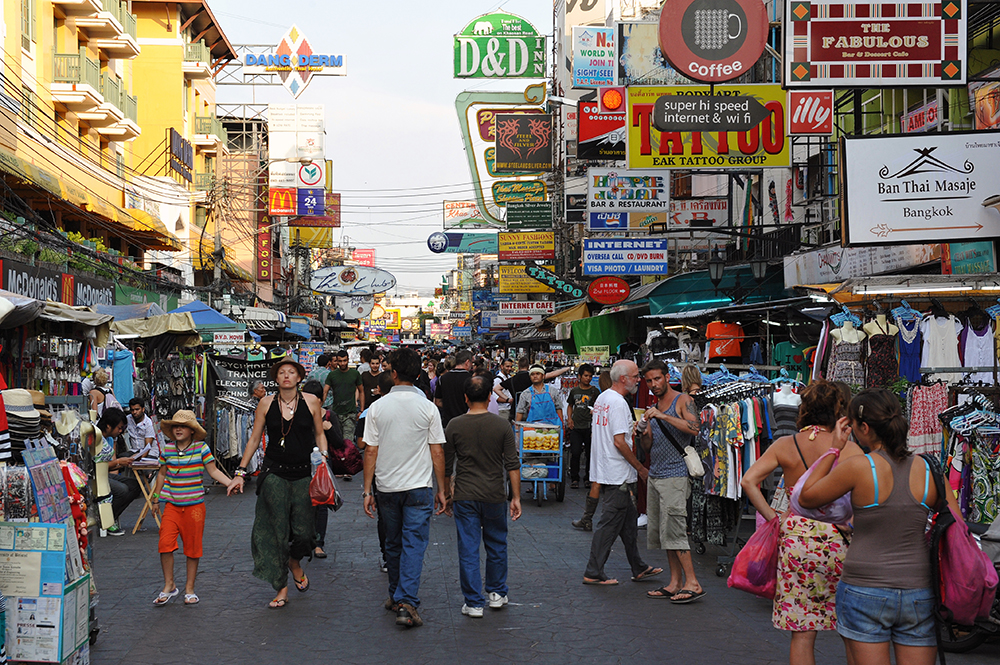 Khao San Road is a bit more touristy, but worth a visit nevertheless.