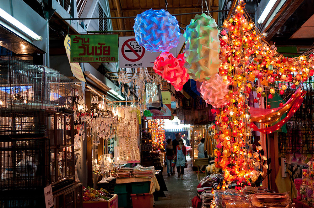 Chatuchak is the world's largest weekend market. Photo courtesy of Mark F.