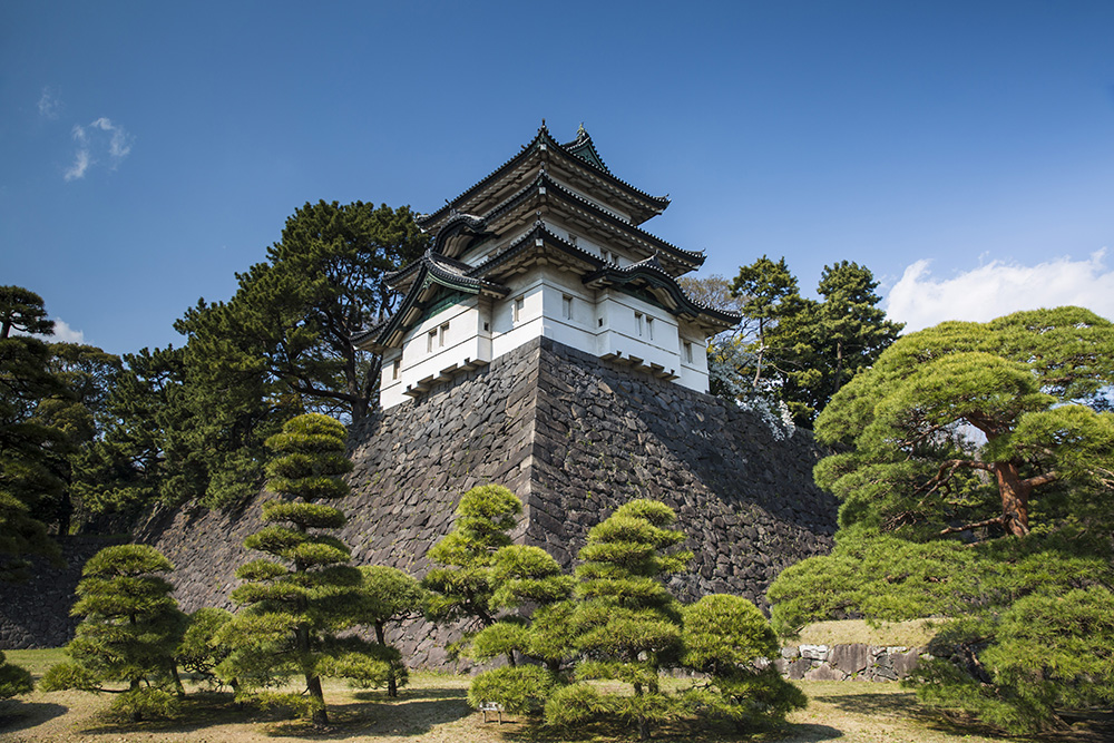 Tokyo's famed Imperial Palace.