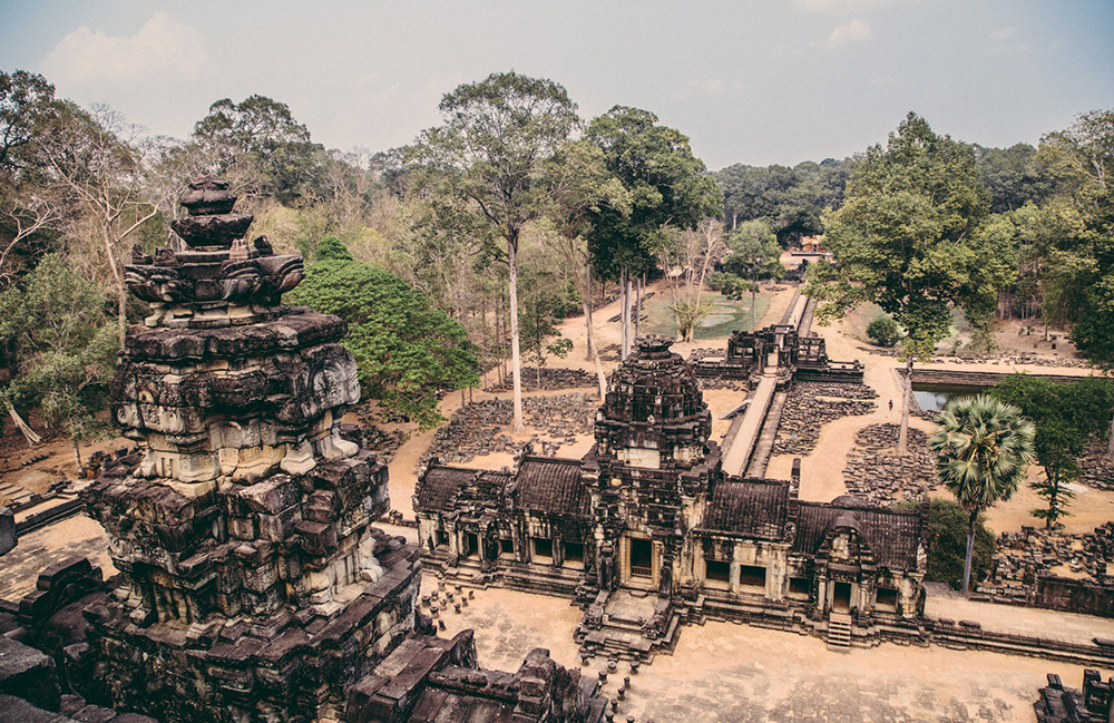 Although Angkor Wat is the most well-known temple in the Siem Reap area, there actually are hundreds in the region. You'll need at least one full day to take a small sampling in.