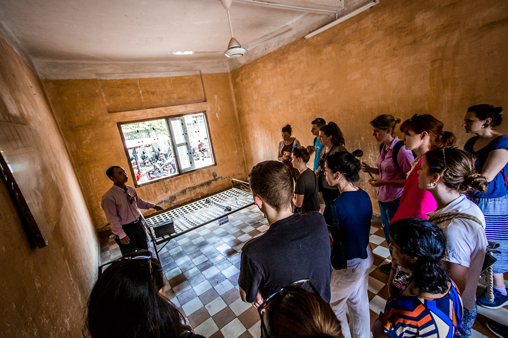 To know Cambodia's story, its important to visit some war museums and prison camps. They reveal a dark, yet very real, past.