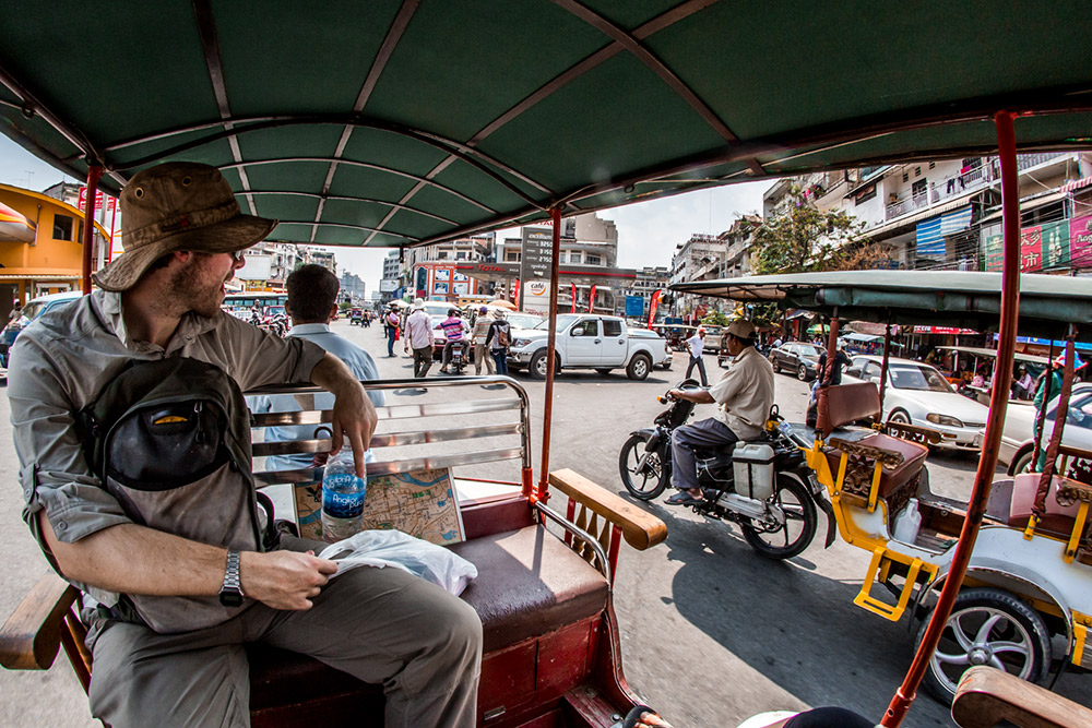 Phnom Pen. The capital of Cambodia is alive, and full of places to go and sights to see.