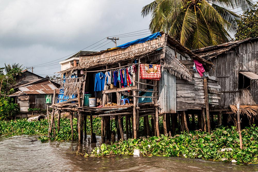 Life along the Mekong River.