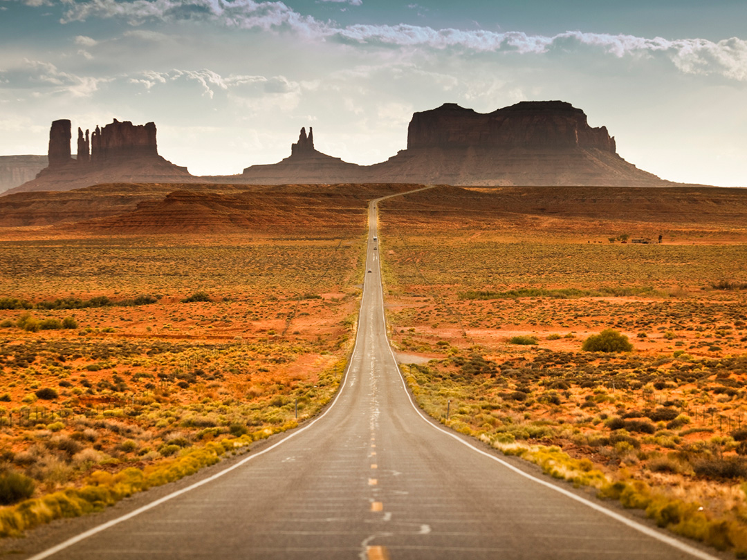 San Francisco To New Orleans Road Trip In United States North Monument Valley Usa Map