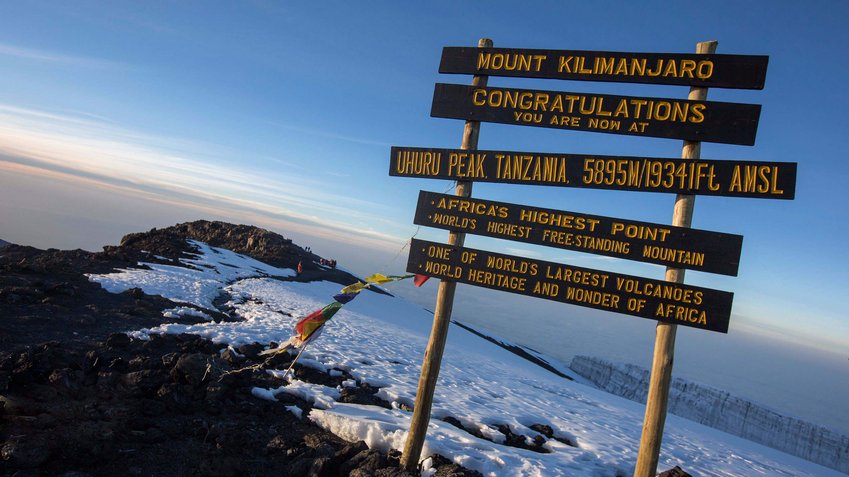 Mt Kilimanjaro On World Map.Mt Kilimanjaro Trek Machame Route 9 Days In Tanzania Africa G
